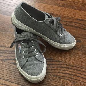 Superga COTU 2750 wool-blend sneakers